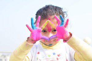 manos colores