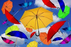 paraguas colores